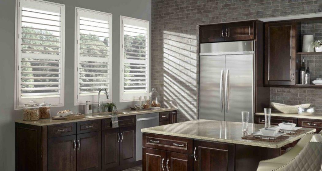 Eclipse Shutters Kitchen